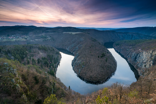 Vltava river bend Máj
