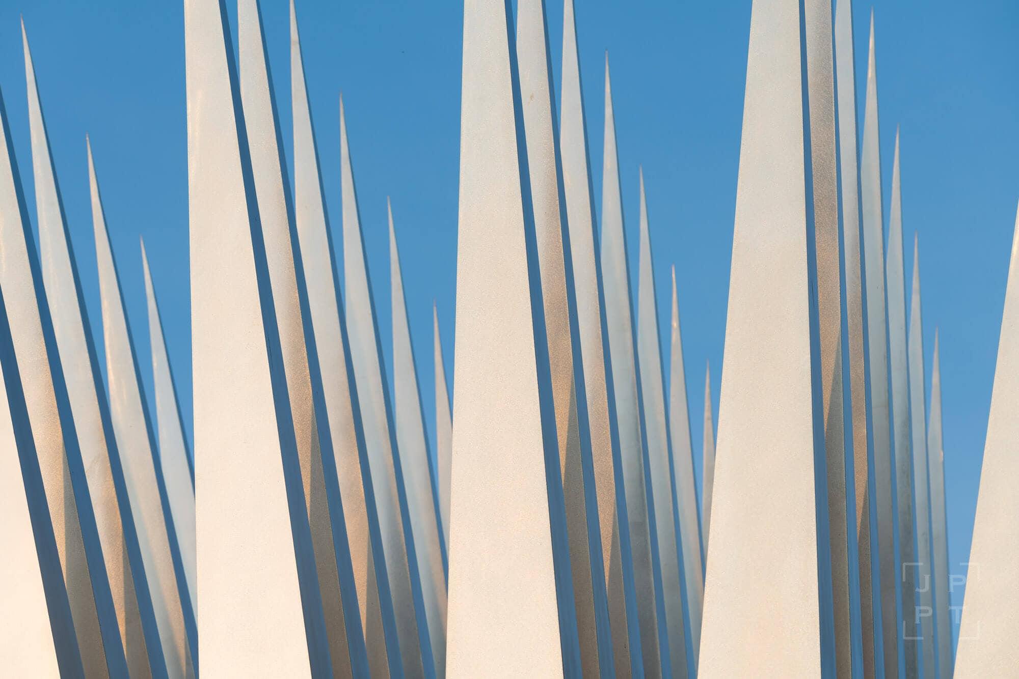 Abstract blades, Prague