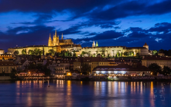 Illuminated Prague Castle