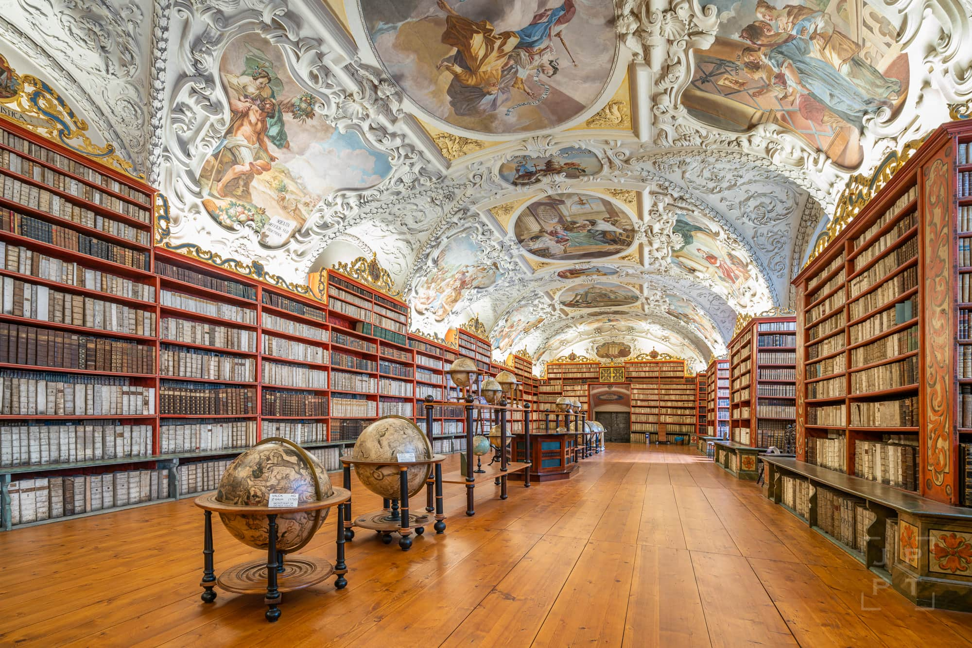 Theological Hall, Strahov Library, Prague