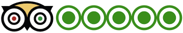 tripadvisor 5-star rated